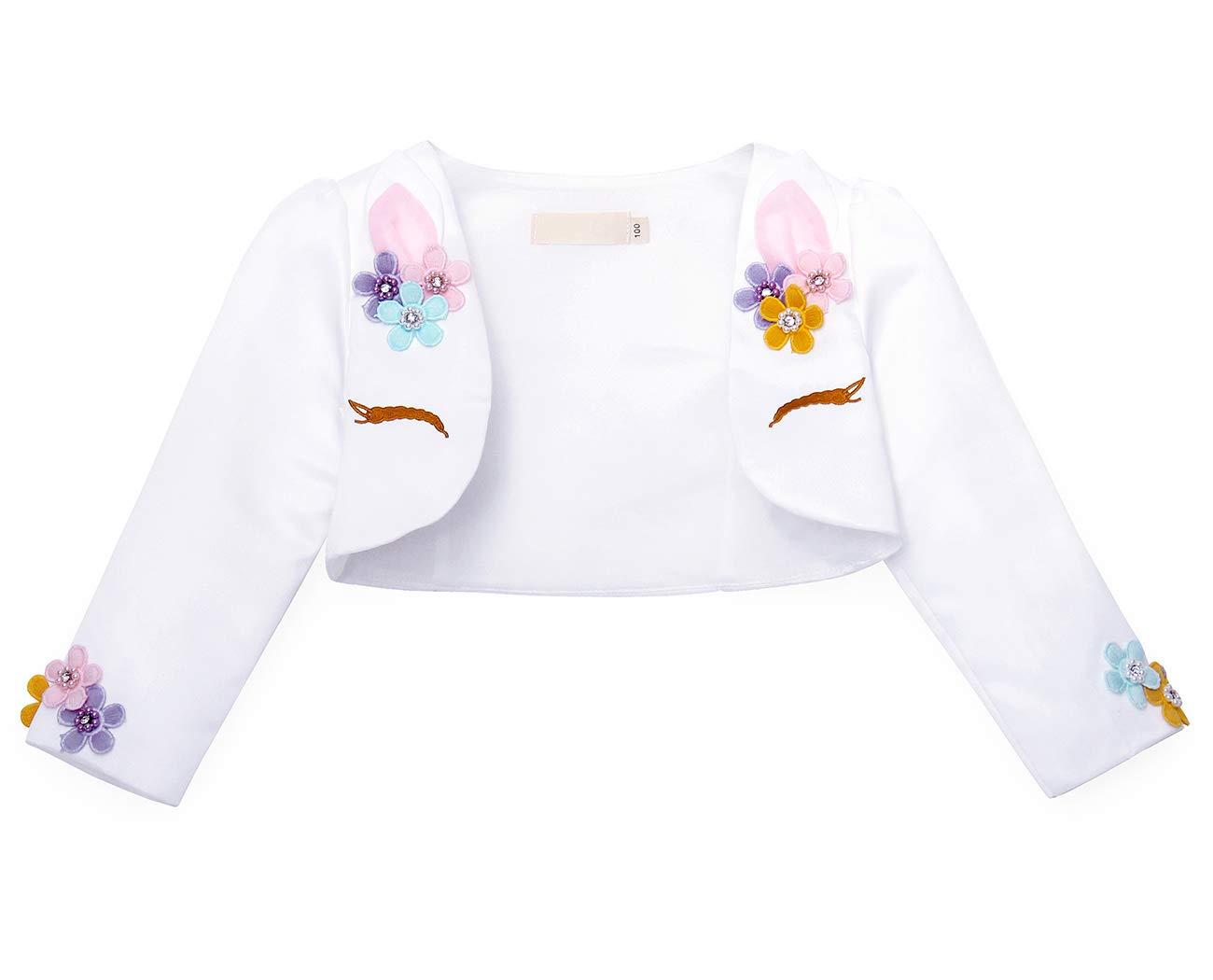 AmzBarley Toddler Girls Unicorn Princess Tutu Dress Up Halloween Costume Outfits Kids Cosplay Birthday Party Wedding
