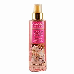 Calgon Fragrance Body Mist (Japanese Cherry Blossom, 8-Ounce)