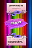 Redemption: Bible Verse Notebook Cover: Being