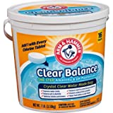 Arm & Hammer Clear Balance Pool Maintenance Tablets, 16 Count (2)