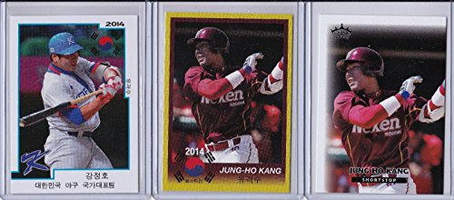 jung-ho-kang-pittsburgh-pirates-2014-nexen-heroes-korean-baseball-rookie-lot