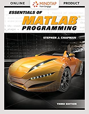 MindTap Engineering for Chapman's Essentials of MATLAB Programming, 3rd Edition