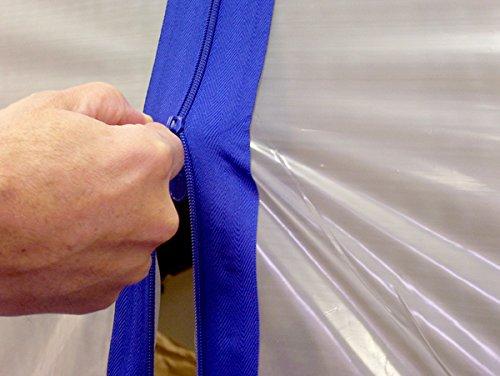 3 inch Zip N Cls Zipper (Case of 2,2 Cases)