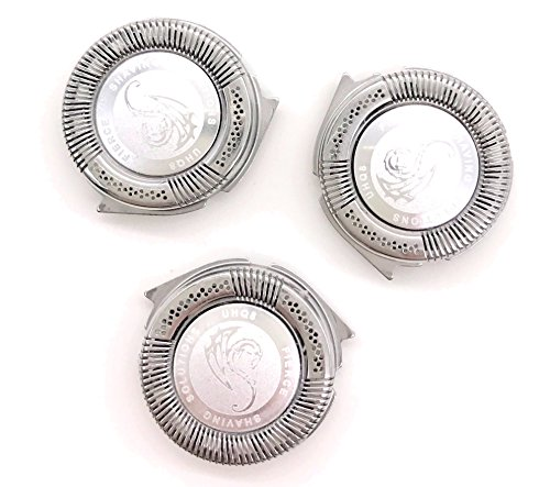 Universal SH50/52 Replacement Head Blades 3-Pack for Series 5000 Shavers   Philips Norelco Compatible Electric Razors