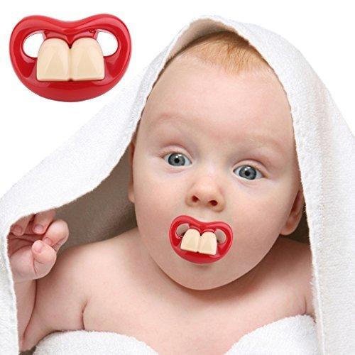 Divertido Bucktooth comestibles niño del silicona infantile ...