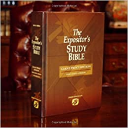 The Expositor's Study Bible - Giant Print: Jimmy Swaggart
