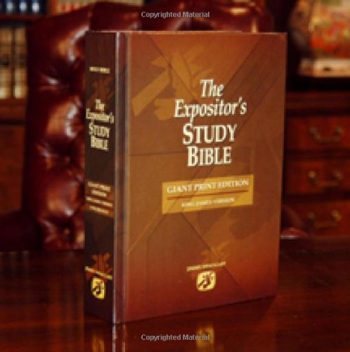 Read Online The Expositor's Study Bible - Giant Print ebook