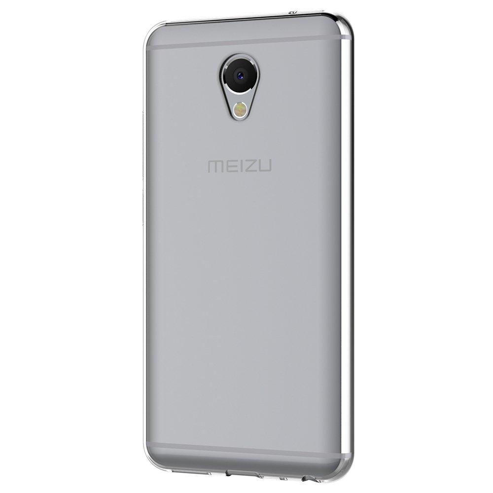 AICEK Funda Meizu M5 Note, Transparente Silicona Fundas para Meizu M5 Note Carcasa (5,5 Pulgadas) Silicona Funda Case