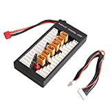 Weyland XT60 Parallel Balanced Charging Plate Charging Board for imax B6 B6AC UN-A6 charger,Rechargeable Lipo Lithium Battery Adapter Expansion Board