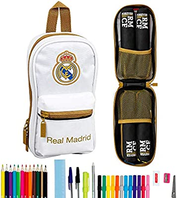 Real Madrid CF Plumier, Talla Única: Amazon.es: Oficina y papelería