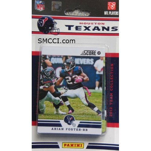 Andre Johnson Houston Texans - 2012 Score Houston Texans Factory Sealed 12 Card Team Set Including Matt Schaub, Arian Foster, Andre Johnson, Owen Daniels, Case Keenum, Devier Posey, Jared Crick, Whitney Mercilius, Kevin Walter, Brian Cushing and Keshawn Martin.
