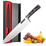 Sharp Knives for Kitchen,8 Inch Cooking Knives for Fruit and Meat with Professional Japanese Chef Knife Carving Knives
