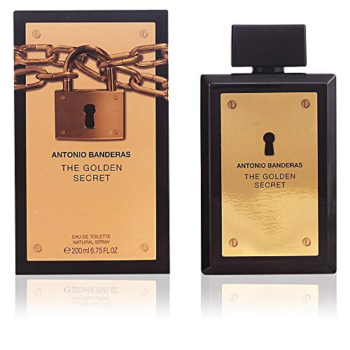 (Antonio Banderas The Golden Secret for Men Eau de Toilette Spray, 6.75 Ounce)