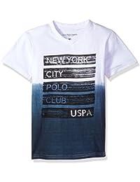 Boys' Short Sleeve Fancy V-Neck T-Shirt
