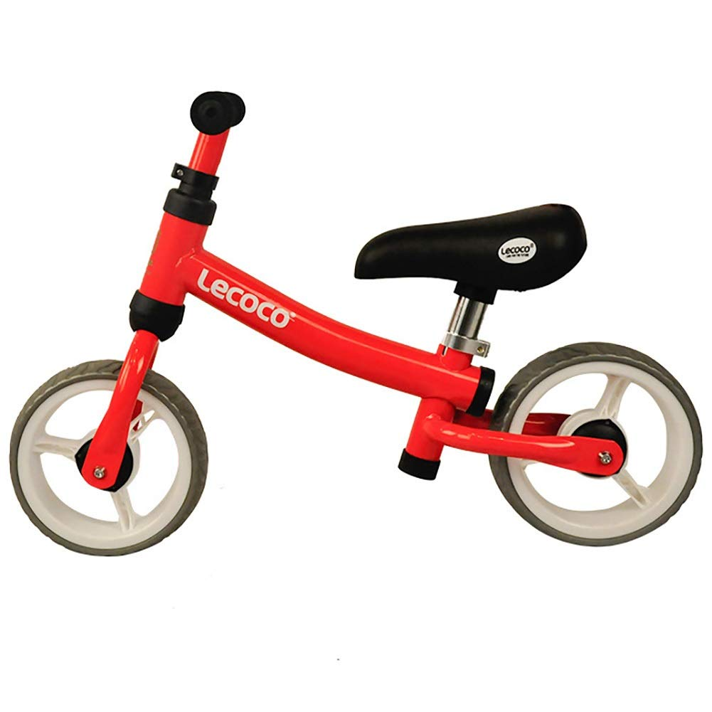 Biciclette senza pedali No-Pedal Balance Bike La Prima Sicurezza per la Bici dei Bambini Testata da 18 Mesi è Adatta a Bambini di 3 Anni, Biciclette per Bambini (colore   Giallo)