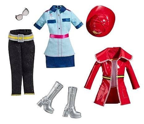 Barbie V3111 - Confezione da 2 vestiti per Barbie faaba08c4ff