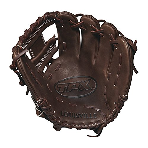 Louisville Slugger 2018 Tpx Infield Baseball Glove - Right Hand Throw Dark Brown/White, ()