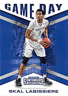 Skal Labrissiere basketball card (University of Kentucky Wildcats) 2016 Contenders Draft Picks #10 Game Day
