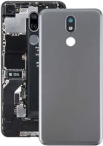 YANCAI Repuestos para Smartphone Tapa Trasera de batería for LG K40 (Negro) Flex Cable (Color : Grey): Amazon.es: Electrónica