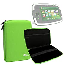 "DURAGADGET Lime Green ""Tough"" Hard Case For LeapFrog LeapPad Platinum / LeapPad Ultra / LeapPad Ultra XDI / LeapPad GLO With Soft Inner Lining & Netted Pocket"