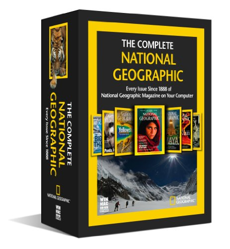 The Complete National Geographic – Every Issue since 1888