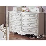ACME 01020 Dresser, Pearl White Finish