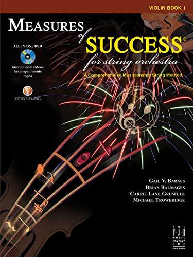 Measures of Success for String Orchestra Violin Book 1 (String Method Violin Book)