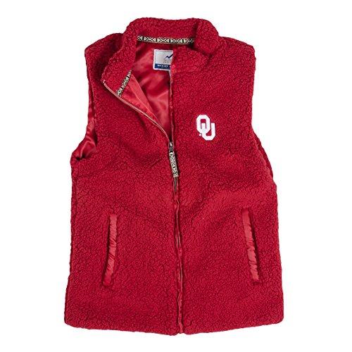 Summit Hoodie Vest - Summit Sportswear Women's Sherpa Vest Ou Vintage Red XL