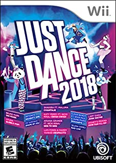 Just Dance 2018 - Wii (B072QF7G44) | Amazon price tracker / tracking, Amazon price history charts, Amazon price watches, Amazon price drop alerts