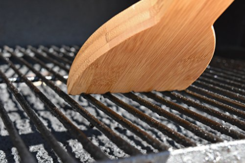 Feros Safer Scraper Wood Bbq Wooden Grill Cleaner