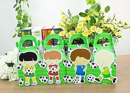 Fútbol caja de Favor Candy caja caja de regalo caja para 2 ...