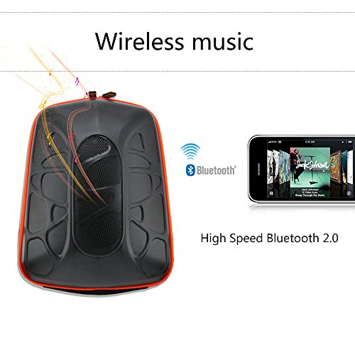 4bca15eaba Travel Cycling Bluetooth Loud Music Speaker Backpack Stereo Mp3 Subwoofer   Amazon.ca  Sports   Outdoors