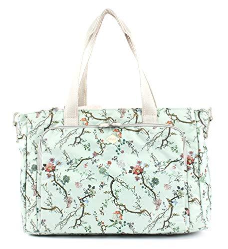 Oilily - Groovy Diaperbag Mhz, Turquoise Coussins pour femmes (türkis (turquoise clair))