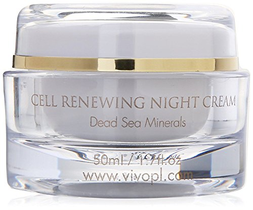 Vivo Per Lei Cell Renewal Night Cream, Look Younger, Not Oily or Sticky, 1.7 Fl. Oz.