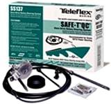 New Boat Steering System Complete 18' Q C Teleflex Safe-T Tel Ss13718