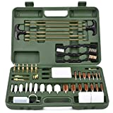BROWNTC Gun Cleaning Kit Universal Supplies Hunting Rifle Pistol Shotgun Cleaning Kit