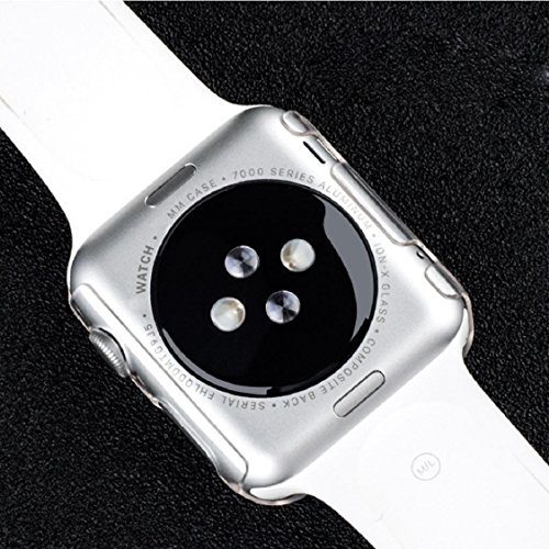 Apple Watch Case,Sunfei Ultra-Slim Cystal Clear PC Hard Protective Case Cover for Apple Watch (42mm) by Sunfei (Image #4)