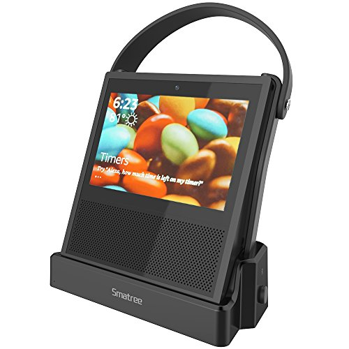Echo Show (1st Generation) Battery Base, Smatree Power Bank for Echo Show (1st Generation), Power Your Echo Show (1st Generationup) to 8 Hours, (Alexa Unlimited) (10200mAH)(Echo Show NOT Included]()