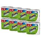 Bounty Quick-Size Paper Towels, White, 16 Family Rolls = 40 Regular Rolls: more info