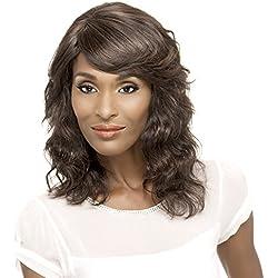 Vivica A Fox Hair Collection Diva-Remi Human Hair Natural Wig, 1, 8.7 Ounce