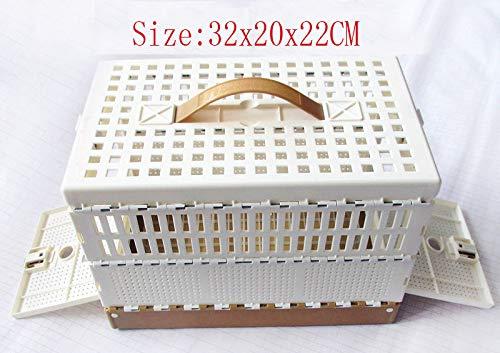 FidgetFidget nest Box Pigeon Training Transport Basket Folding Collapsing Cages Bird Supply