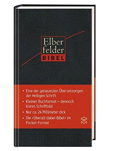 Elberfelder Bibel Pocket Edition (Leder)