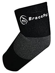 #1 Elbow Brace - Support Compression Sleeve for Relief of Golfers & Tennis Elbow, Joint Tendonitis - Best in Quality - For Use in Golf, Tennis, Weight Lifting, Bowling, Basketball, Football, Baseball - Bamboo Charcoal - Self-warming, Anti-bacterial
