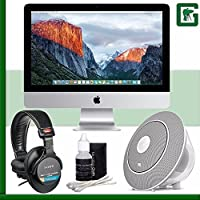 Apple 21.5 iMac (Late 2015) + Sony MDR-7506 Headphone + JBL Voyager Portable Wireless Bluetooth Speaker (White) Greens Camera Bundle 31