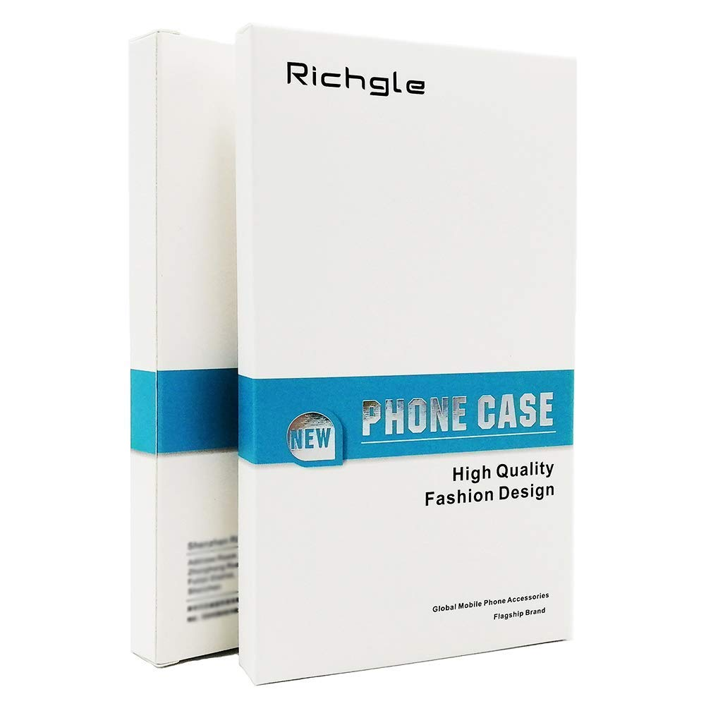 5.84 Vooway Negro Ultra-Delgado Funda Case Cover y Protector de Pantalla para Huawei P20 Lite MS70545