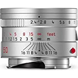 Leica 11681 Summarit-M 50mm/f2.4 Normal Lens, Silver