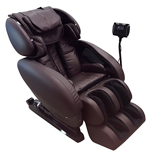 Infinity IT-8500 X3 - Full Body Zero Gravity 3D Massage Chair - Featuring Air Compression, Decompression Stretch, Lumbar Heat, and Shiatsu Technique- Brown
