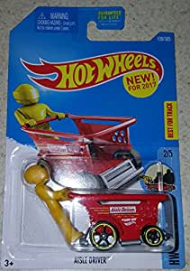 hot wheels 2017 hw ride ons aisle driver shopping cart car 139 365 red toys games. Black Bedroom Furniture Sets. Home Design Ideas