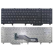 Replacement Keyboard for Dell Latitude E5520 E5520m E5530 E6520 E6530 E6540 Laptop