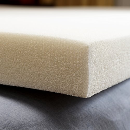 pharmedoc memory foam mattress topper 2 inch thick. Black Bedroom Furniture Sets. Home Design Ideas